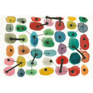 Mid Century II Graphic Art on Wrapped Canvas by East Urban Home