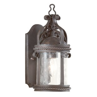 Clearance Theodore Cottage 1-Light Outdoor Wall Lantern By Darby Home Co