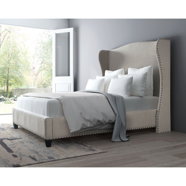 Rodrigue Upholstered Standard Bed by Willa Arlo Interiors