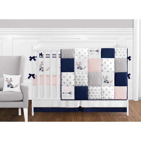 Fox Patch 9 Piece Crib Bedding Set by Sweet Jojo Designs