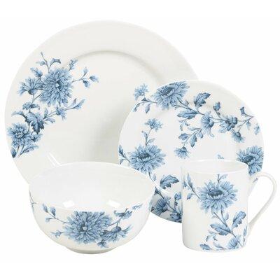 Denim 16 Piece Dinnerware Set  sc 1 st  Birch Lane & Corelle Vive Kalypso 16 Piece Dinnerware Set Service for 4 ...