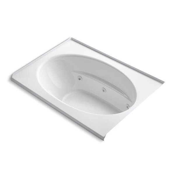 Windward Alcove 60 x 42 Whirpool Bathtub by Kohler