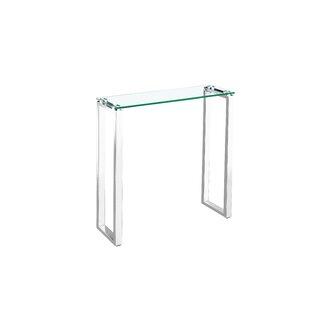 Affordable Ridinger Glass Console Table ByOrren Ellis