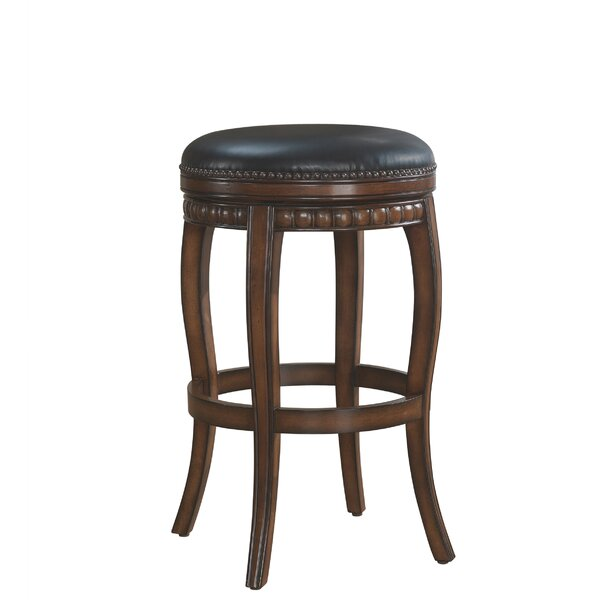 Batterson 30.5 Swivel Bar Stool by Astoria Grand