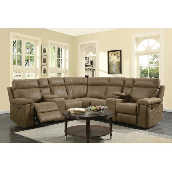 #1 Ohara Reclining Sectional By Red Barrel Studio Savings