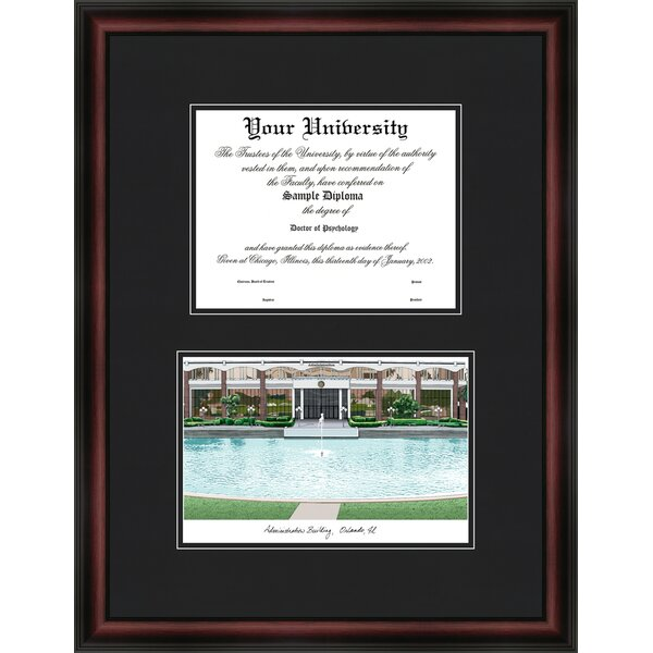 NCAA University of Central Florida Diplomate Diploma Picture Frame by Campus Images