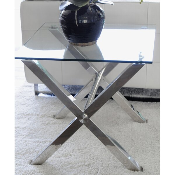 Emiliano End Table by Wade Logan