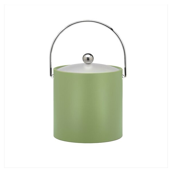 Binegar 3 Qt Ice Bucket in Mist Green by Langley Street