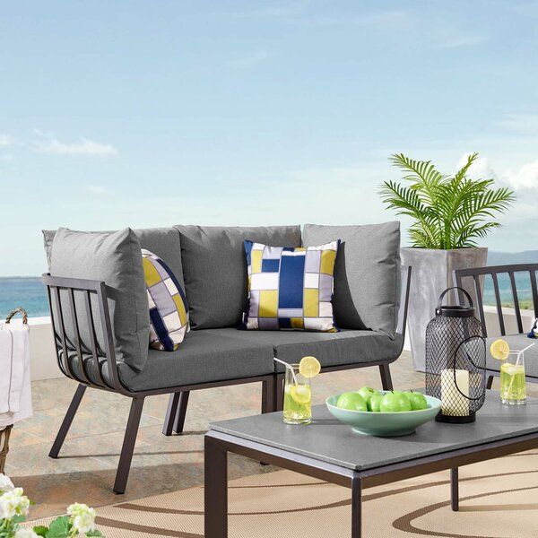 Montclaire Patio Sectional With Cushions By Brayden Studio