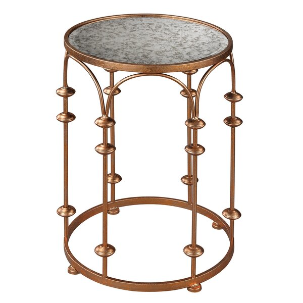 Brunetti End Table by House of Hampton