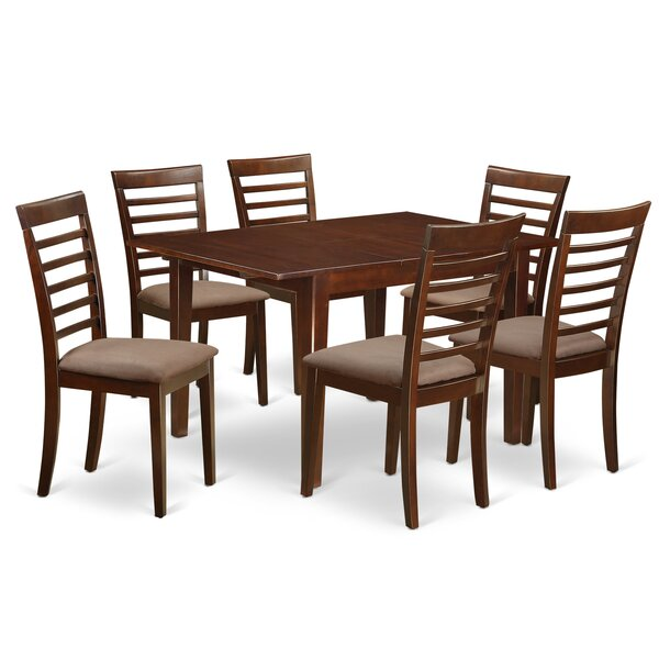 Lorelai 7 Piece Dining Set by Alcott Hill