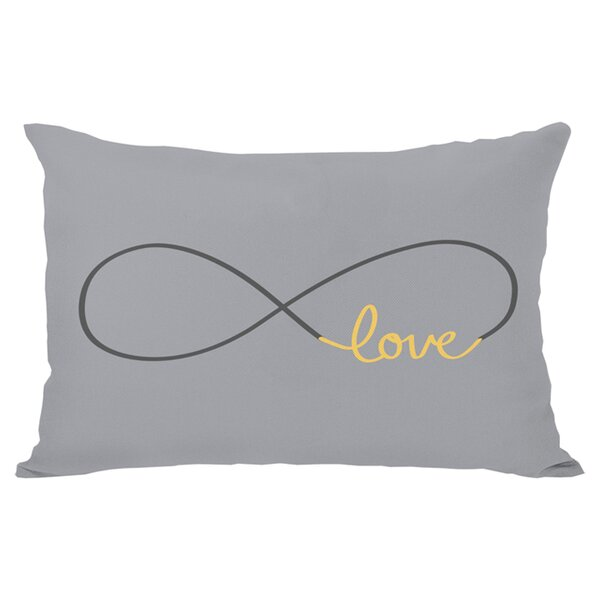 Infinite Love Lumbar Pillow by One Bella Casa