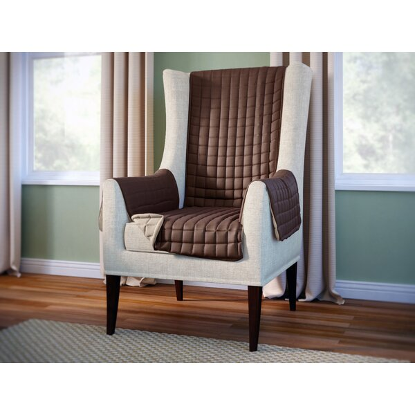 Review Wayfair Basics Box Cushion Wingback Slipcover