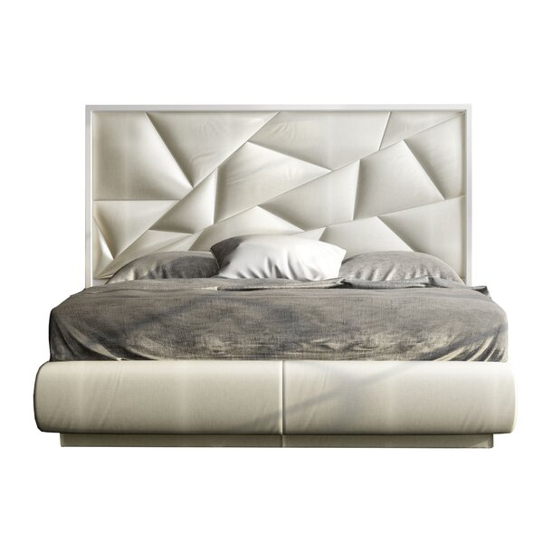 Helotes Upholstered Platform Bed by Orren Ellis