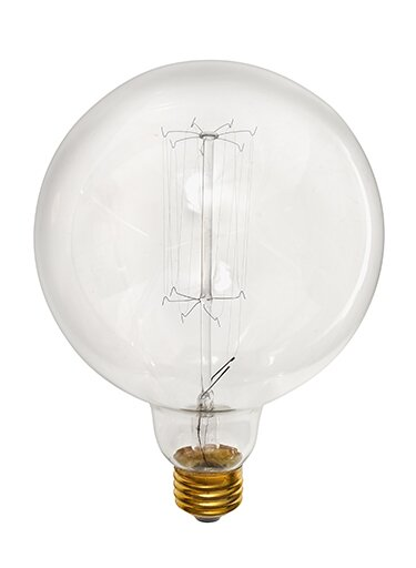 60W E26 Dimmable Incandescent Edison Globe Light Bulb by Hinkley Lighting