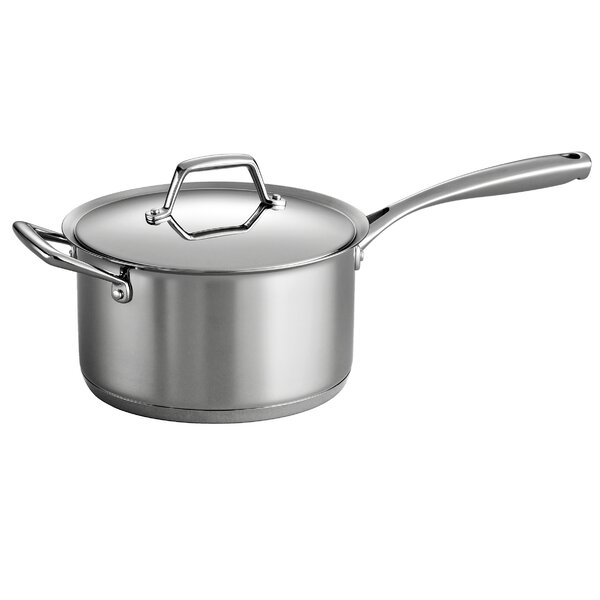 Gourmet Prima Saucepan with Lid by Tramontina