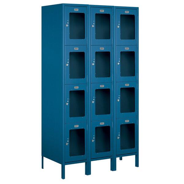 4 Tier 3 Wide Employee Locker by Salsbury Industries4 Tier 3 Wide Employee Locker by Salsbury Industries