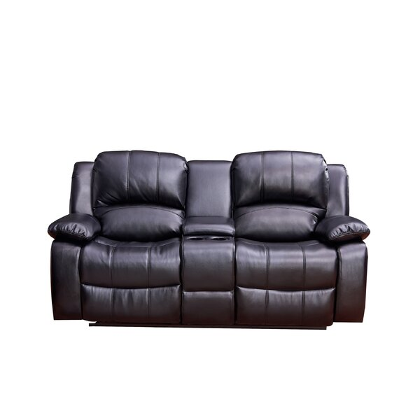 Best #1 Gatun Reclining Sofa By Red Barrel Studio Great price