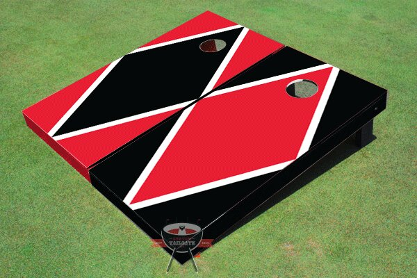 Alternating Diamond Cornhole Board (Set of 2) by All American Tailgate
