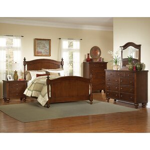 Metropolis King Panel 5 Piece Bedroom Set by Three Posts