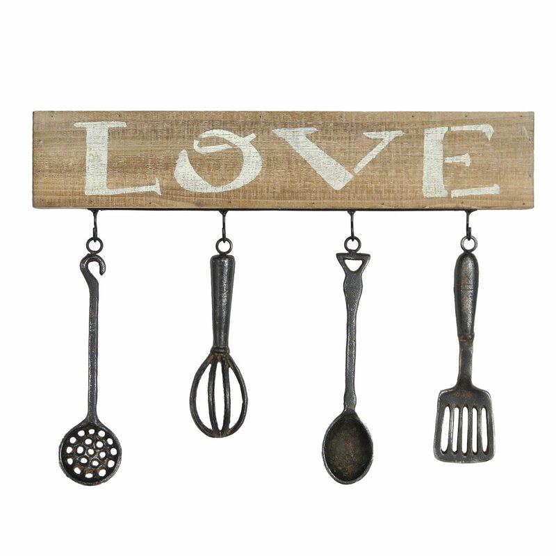 Lovely Kitchen Utensil Wall Décor