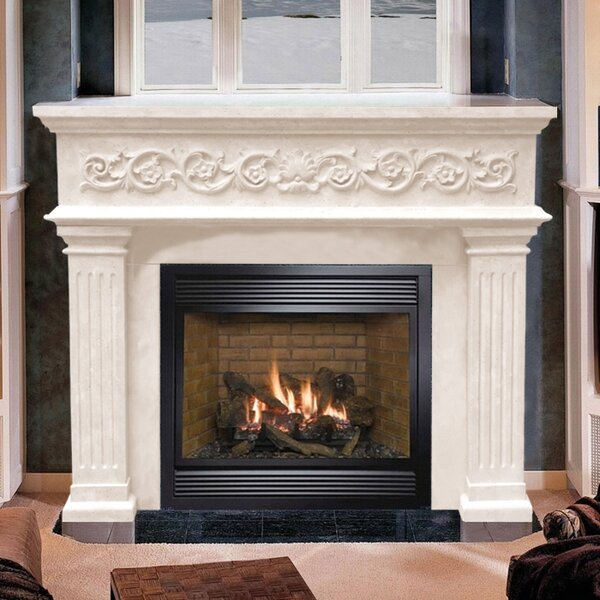 Designer Michael Angelo Fireplace Surround by Historic Mantels Limited