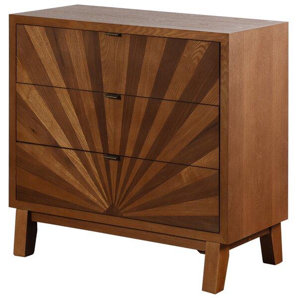 Cybil 3 Drawer Dresser by Brayden Studio