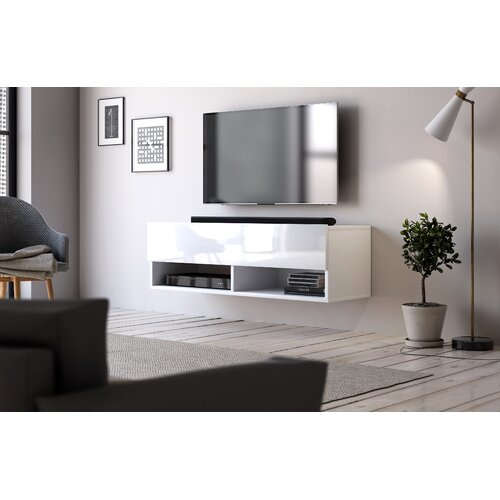 """Wescott TV Stand for TVs up to 43"""" Ebern Designs"""
