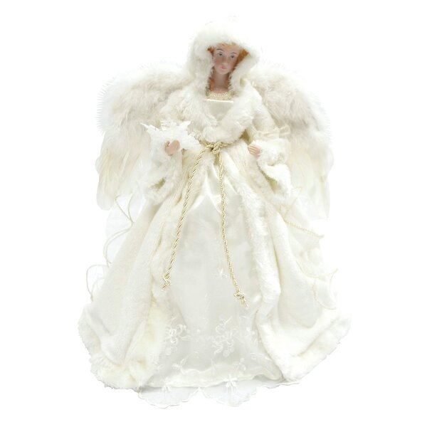 16 Winter Angel Tree Topper by The Holiday Aisle