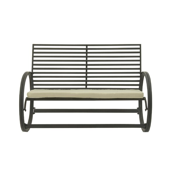 Ebron Metal Garden Bench by Brayden Studio