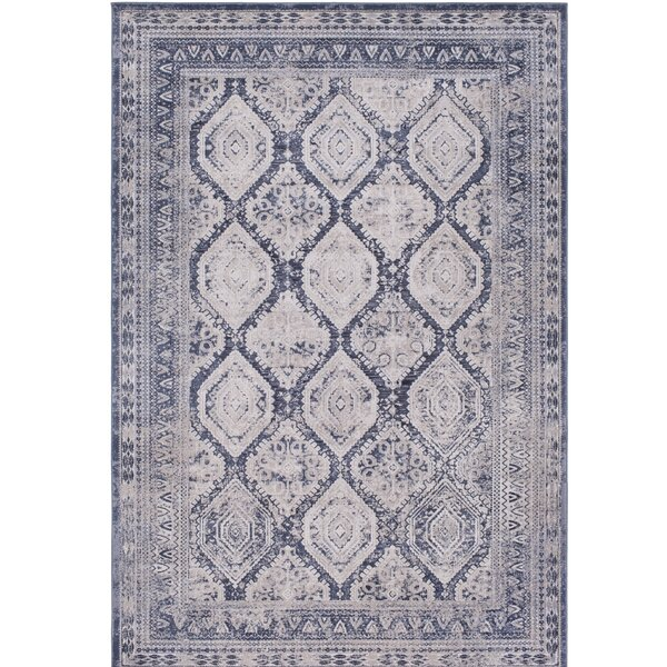 Hummell Traditional Gray Area Rug by Lark Manor
