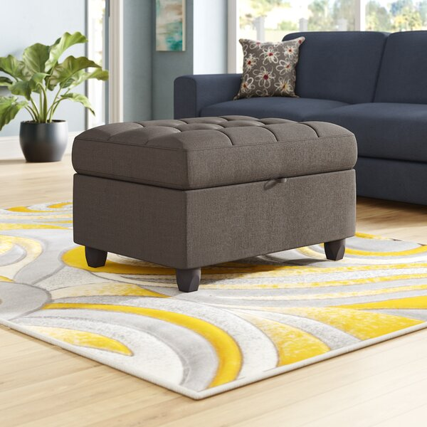 Hudson Square Storage Ottoman by Wrought Studio