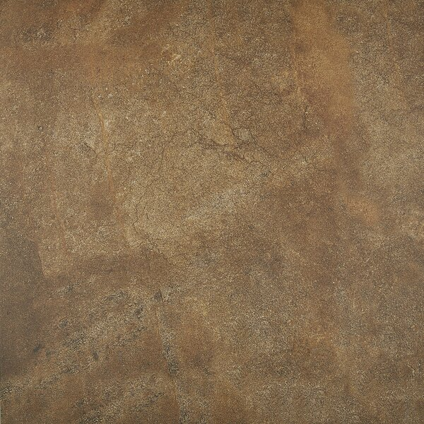 Slate Attaché 24 x 24 Porcelain Field Tile in Multi Brown by Daltile