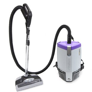 ProTeam New Super Coach Pro 6 Qt. Vacuum Cleaner with Power Head by ProTeam