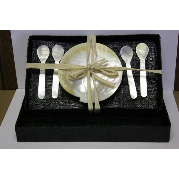 Mother of Pearl Caviar 5 Piece  Place Setting, Service for 1 by Desti Design