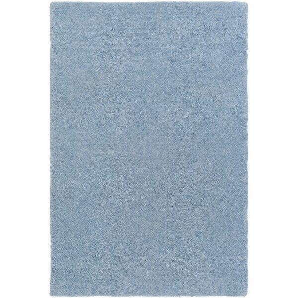 Eckman Light Blue Area Rug by Harriet Bee