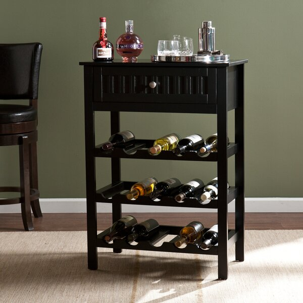 Raabe 15 Bottle Floor Wine Rack by Darby Home Co