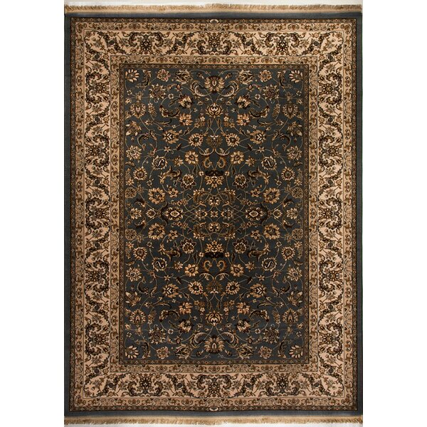 Cirro Fisher Wool Grey/Ivory Area Rug by Dynamic Rugs