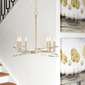 Garret 6-Light Candle-Style Chandelier