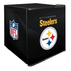 steelers bedroom. NFL 1 8 cu  ft Compact Refrigerator Pittsburgh Steelers You ll Love Wayfair