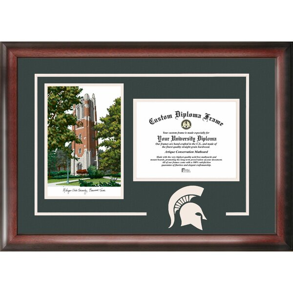 Spirit Graduate with Campus Picture Frame by Campus Images