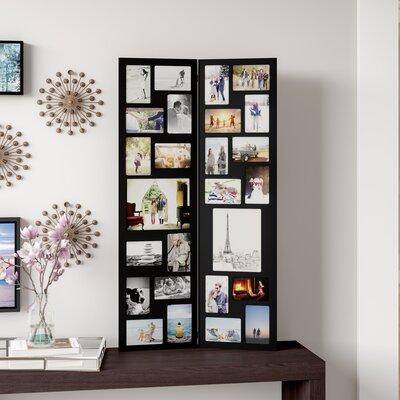 collage picture frames you 39 ll love wayfair. Black Bedroom Furniture Sets. Home Design Ideas