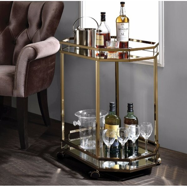 Gassett Serving Bar Cart by Everly Quinn