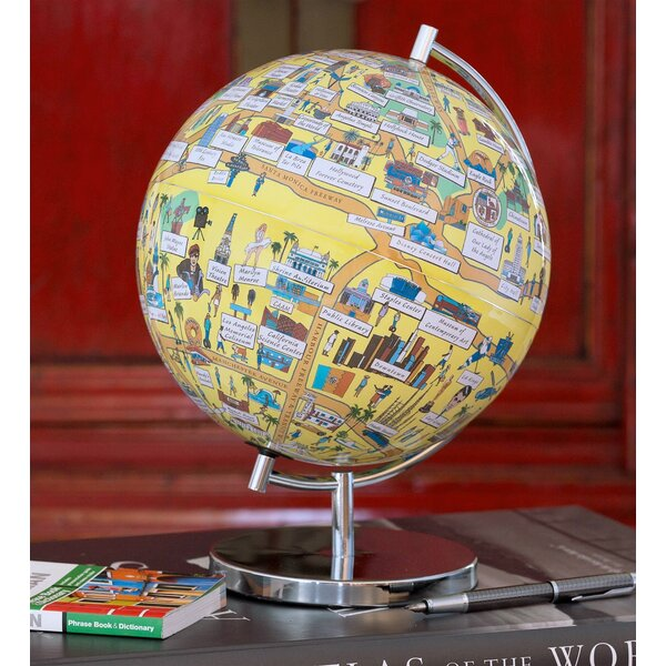 Los Angeles Night Lights Globe by Waypoint Geographic