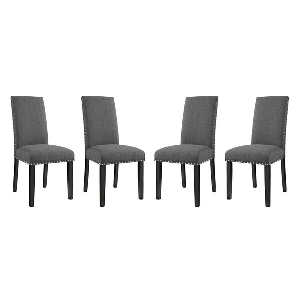 Fresh Smallwood Upholstered Dining Chair (Set Of 4) By Alcott Hill Spacial Price