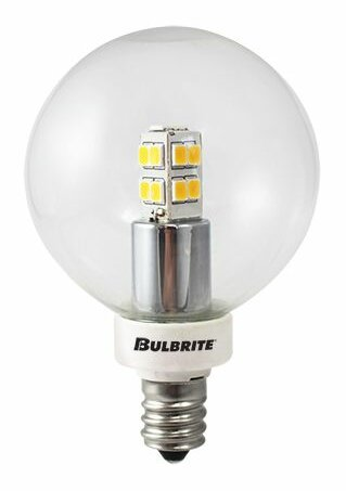 2.5W LED Globe Light Bulb (Set of 3) by Bulbrite Industries