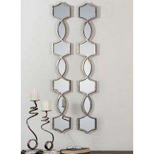 House of Hampton Stotfold Vizela Wall Mirror (Set of 2)