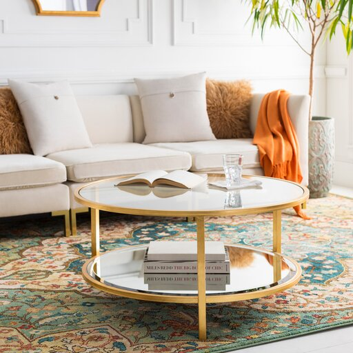 Bridlington ly-Inspired Coffee Table by Everly Quinn