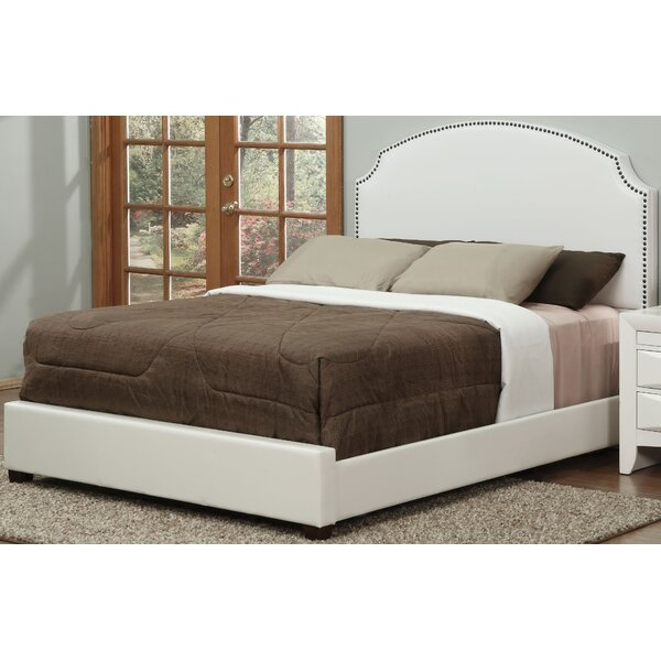 Sigourney Upholstered Panel Bed by Alcott Hill