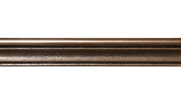 Retro 12 x 2 Chairrail Accent Tile in Bronze by Parvatile